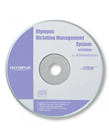 Olympus Dictation Management System ODMS for administratorer
