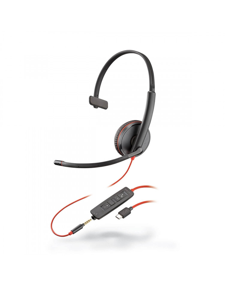 Plantronics Blackwire 3215 USB-C professionelt headset