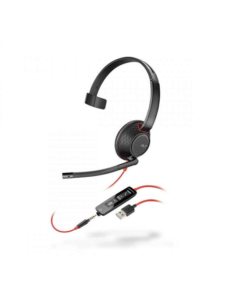 Plantronics Blackwire C5210 USB headset til PC og mobil