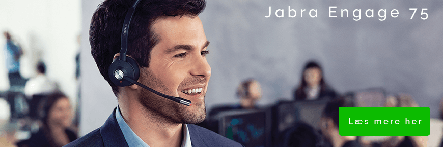 On-ear headset til samtaler: Jabra Engage 75