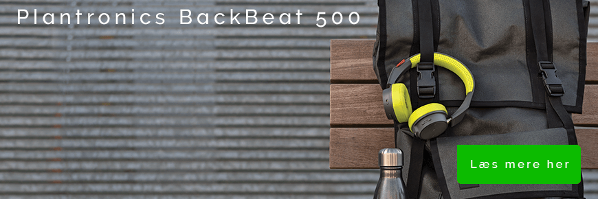 On-ear headset til musik: Plantronics BackBeat 500