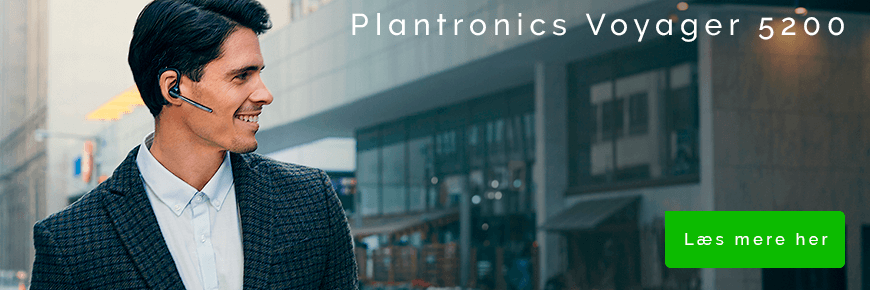 In-ear headset til samtaler: Plantronics Voyager 5200