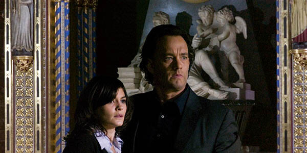 Da Vinci Code med Tom Hanks. Columbia Pictures