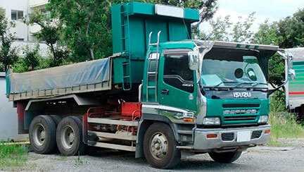 Isuzu GIGA Light Dump