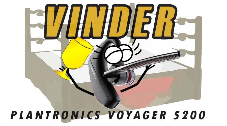 Plantronics Voyager 5200 bedste headset