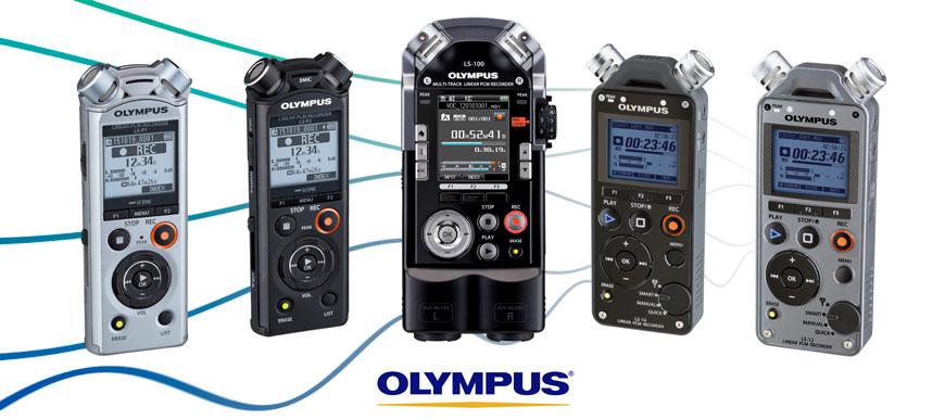 Olympus musik optager