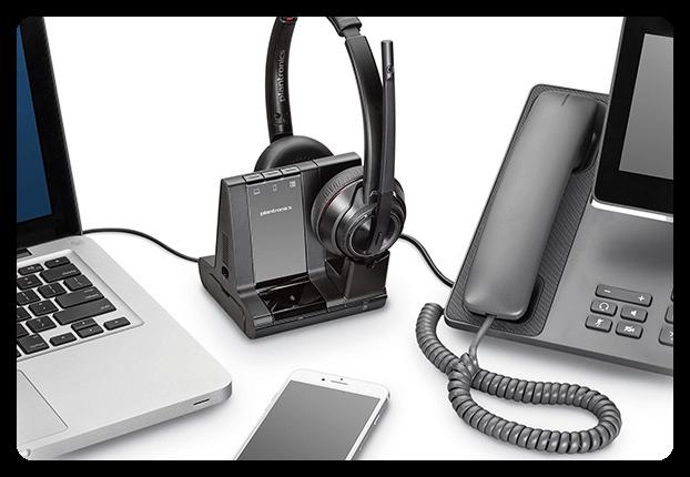 Plantronics Savi 8200 headset til PC, mobil og fastnet