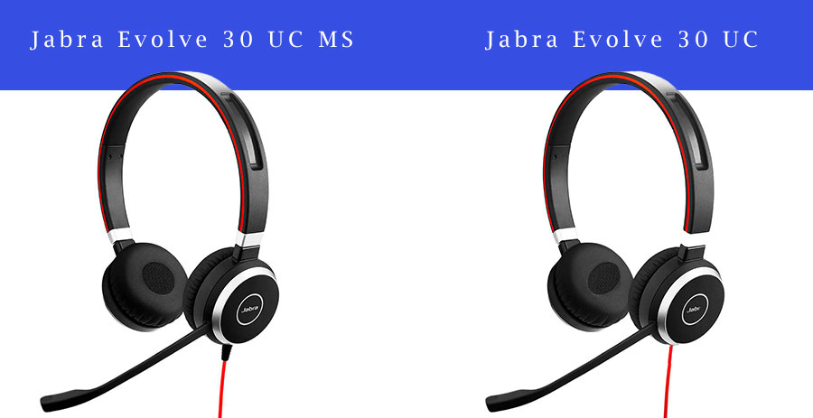 Skype for Business headset, Jabra Evolve 30