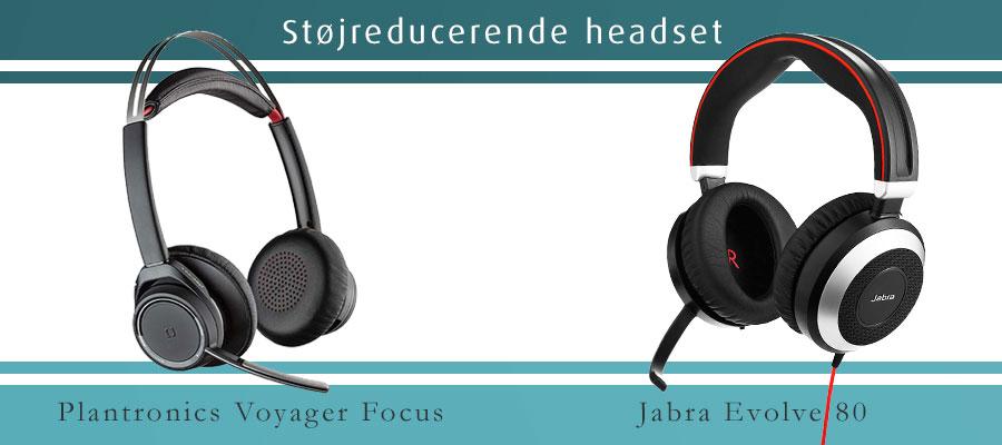 Støjreducerende headset
