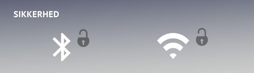 Trådløs kommunikation Bluetooth og DECT sikkerhed