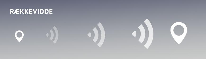 Bluetooth og DECT trådløst headset rækkevidde