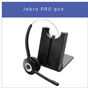Jabra PRO 920 trådløst DECT mono headset til fastnettelefon