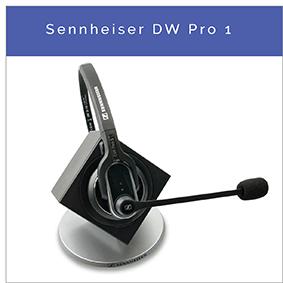 Sennheiser DW Pro 1 trådløst DECT fastnet og PC headset
