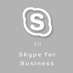 Konferencetelefon Skype for Business