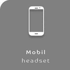 Mobil headset